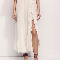 Free People Camilla Midi Skirt