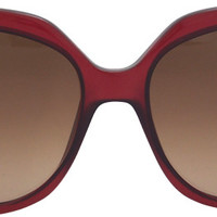 fendi ff 0047/s mkgd8 - burgundy sunglasses