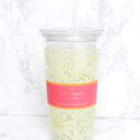 Daisy Lace Insulated Tumbler - Kate Spade
