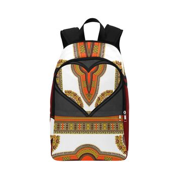 Dashiki Love Fabric Backpack for Adult