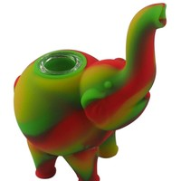 Silicone Elephant Smoking Bowl