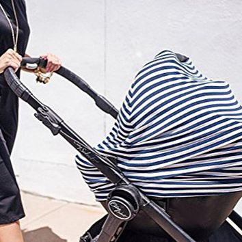 Summer Newborn Baby Girls Boys Outdoor Stretchy 4-1 Baby Car Seat Canopy Nursing Cart Stroller Cover j2