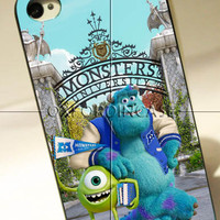 Monster University - for iPhone 4/4S case iPhone 5 case hard case hard cover