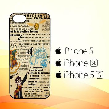 Harry Potter Collage Y0808  iPhone 5|5S|SE Case