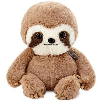 Baby Sloth Stuffed Animal, 8""