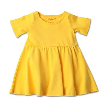 Baby Forever Dress - Yellow