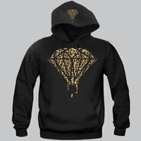 Diamond Cheetah Hoodie Funny and Music