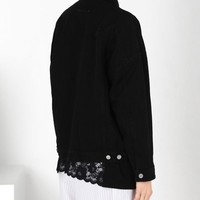 Maison Margiela Boxy Black Denim Jacket Women |