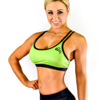 Womens Sports Bra - Green