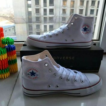 Fashion Online Converse Chuck Taylor All Star Unisex Sport Casual High Help  Shoes Canvas Shoes Couple ac4bf9784638