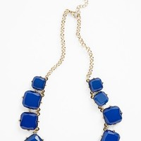 BP. Gradated Square Stone Necklace (Juniors) | Nordstrom