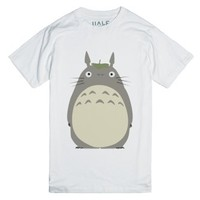 My Neighbor Totoro-Unisex White T-Shirt