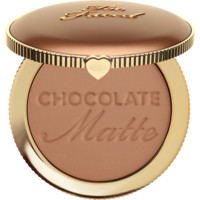 Matte Bronzer: Chocolate Soleil Bronzing Powder - Too Faced