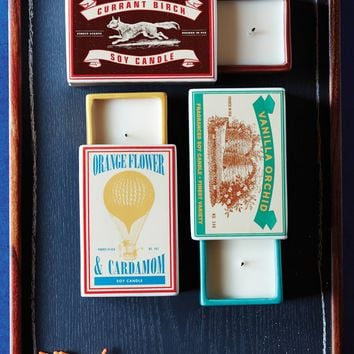 Matchbox Candle