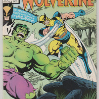 The Incredible Hulk and Wolverine; V1, 1.  NM. Oct 1986.  Marvel Comics.