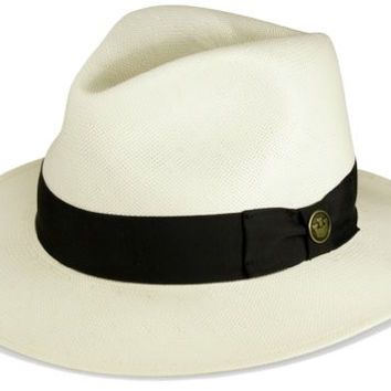 Goorin Bros Made in USA God Father Shantung Straw Hat (Large)
