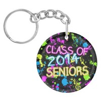 Neon Graffiti Class of 2014 Seniors