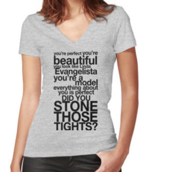 'Did You Stone Those Tights?' Classic T-Shirt by TeeShells