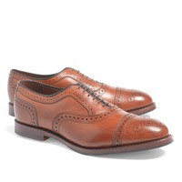 Men's Medallion Perforated Captoe Balmorals | Brooks Brothers