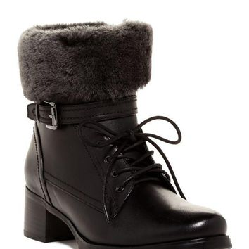 Blondo | Fiory Genuine Shearling Sheep Cuff Waterproof Boot | Nordstrom Rack