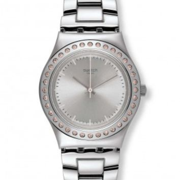 Swatch Irony Pure Powder Ladies Quartz Watch YLS172G