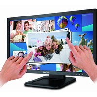 "ViewSonic TD2220 22"" Full HD 1080p LED-Lit Dual-Point Optical Touch Monitor, DVI-D/ VGA Ports"