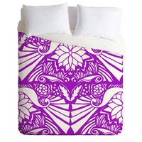 Paula Ogier Good Morning 1 Duvet Cover