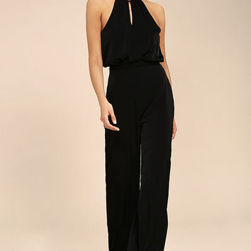 Dance With You Black Jumpsuit