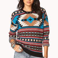 Fireside Southwestern Pattern Sweater