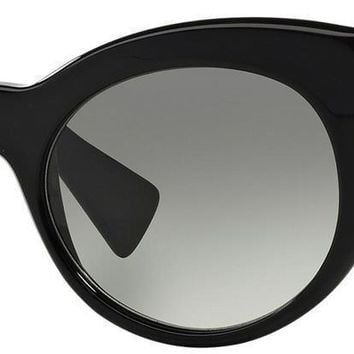 New Versace VE 4297 515611 Womens Black Glitter Sunglasses Italy 54mm Authentic