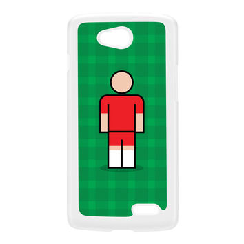 Welling White Hard Plastic Case for LG L90 by Blunt Football
