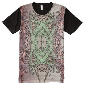 Abstract Design 1 All-Over Print Shirt