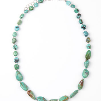 Turquoise Mountain Mama Necklace