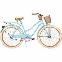 "26"" Huffy Nel Lusso Womens' Cruiser Bike , Gloss Blue"