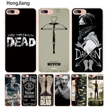 HongJiang Daryl Dixon Walking Dead norman cell phone Cover case for iphone 6 4 4s 5 5s SE 5c 6 6s 7 8 X plus