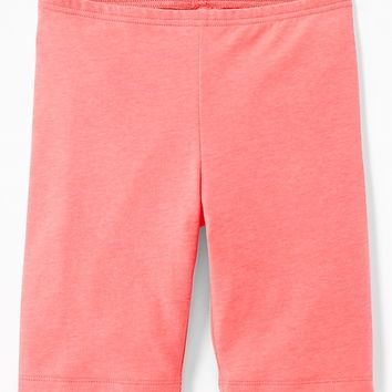 Mid-Length Bike Shorts for Girls | Old Navy