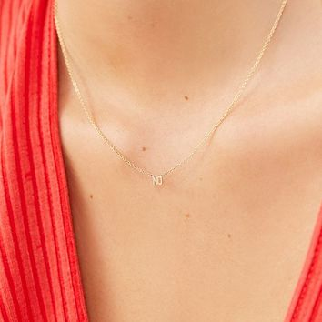 May Martin No 14K Gold Necklace | Urban Outfitters