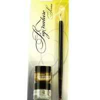 Speedball Signature Series Calligraphy Pen & Ink Set-Gold & Silver at Joann.com