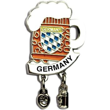 "Iconic ""Germany"" Hat Pins Beer Mug for German Hat"