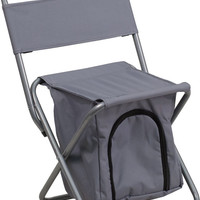 Gray Folding Camping Chair