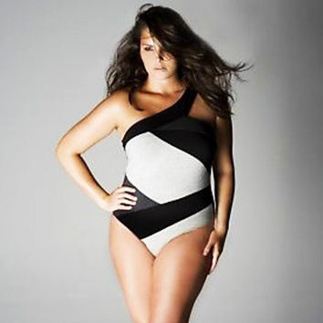 Fashion sexy plus-size bathing suit