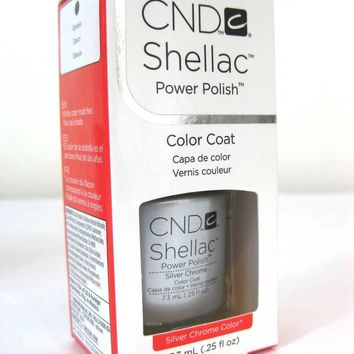 "CND Shellac ""Silver Chrome"" 0.25 oz"