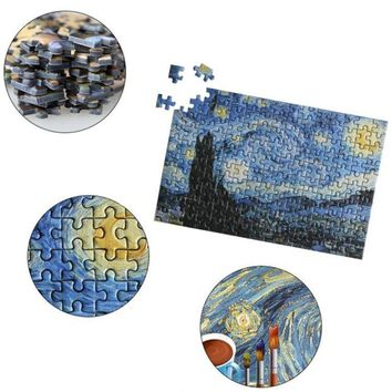 150Pcs Mini Tube 3D Jigsaw Puzzle Educational Toy Painting Learning Kids Gift W15