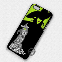 Wicked The Musical Lyric - iPhone 7 6 Plus 5c 5s SE Cases & Covers
