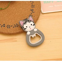 Super Kawaii Chi's Cat Bottle Opener , Stainless Steel Opener , SIZE 6*4CM Bottle Opener , Kitchen Opener Helper