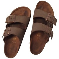 Pre-owned Birkenstock Grey/brown Sandals