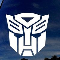 "Autobot-Transformer Car Window Vinyl Decal Sticker 4"" Wide"