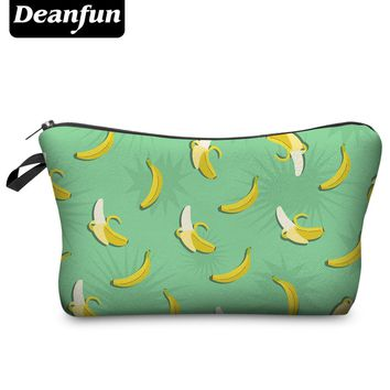 Deanfun 2016 3D Printing Small Cosmetic Bag Women Fashion Brand H56