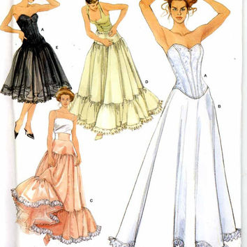 Wedding lingerie pattern or costume lingerie Corset or Petticoat wedding lingerie sewing pattern Andrea Schewe Simplicity 5006 Sz 14 to 20