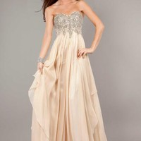 Jovani 1560 Dress at Peaches Boutique